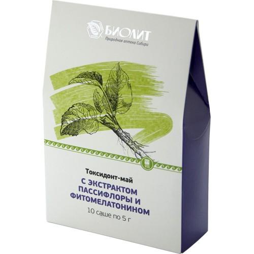 Токсидонт-май с экстрактами пассифлоры и фитомелатонином  г. Архангельск