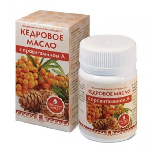 Масло кедровое с провитамином А  г. Архангельск